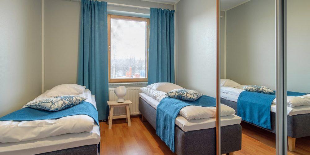 Kahden makuuhuoneen huoneisto 2 - 4