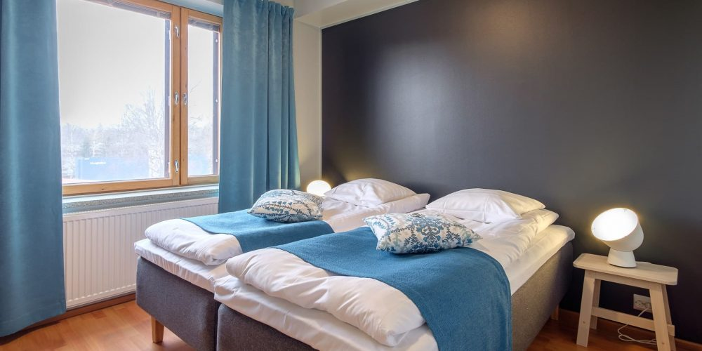Kahden makuuhuoneen huoneisto 2 - 5