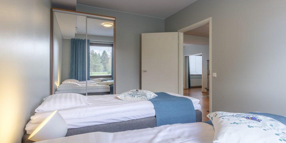 Kahden makuuhuoneen huoneisto 9